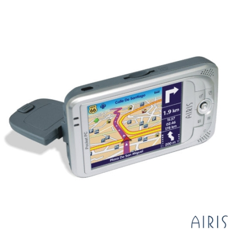 Pocket PC e Navegador GPS Integrado - Airis - T605BR