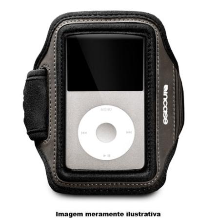Braçadeira Preta para iPod Classic / Ideal para Praticar Esportes - Incase - CL56184, 03 meses