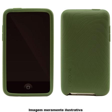Capa Verde de Silicone para iPod touch 2° Geração - Incase - CL56207, Verde, 03 meses