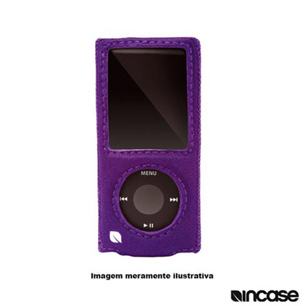 Capa Roxa em Neoprene para iPod nano 4G Incase, Roxo, 03 meses