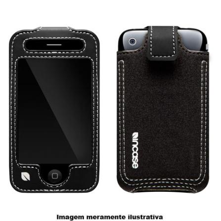Capa Preta em Neoprene para iPhone 3° Geração - Incase - CL59048