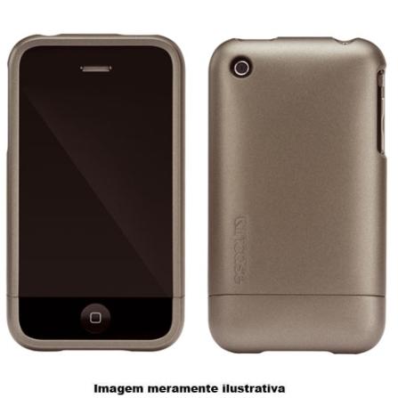 Capa Grafite de Plástico para iPhone 3° Geração - Incase - CL59059, Grafite, 03 meses