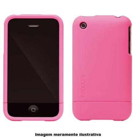 Capa Rosa de Plástico para iPhone 3° Geração - Incase - CL59060, Rosa, 03 meses