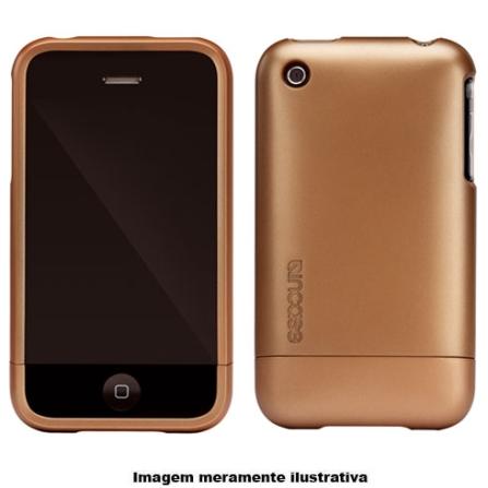 Capa Marrom de plástico para iPhone 3° Geração - Incase - CL59061, Vermelho, 03 meses