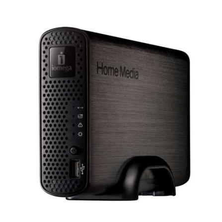 HD Home Media Network Cloud Edition 3TB Prata - Iomega - 35767