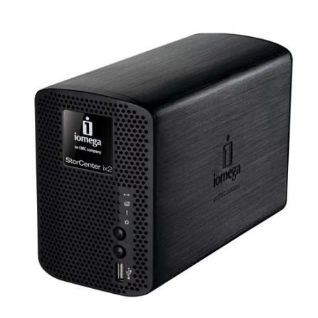 HD NAS Storcenter ix2-200 2TB Cloud Edition Prata - Iomega - 35768
