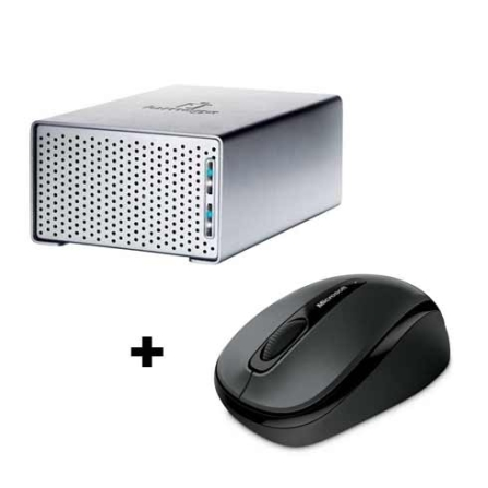 HD Externo 2TB Iomega + Mouse Wireless Microsoft