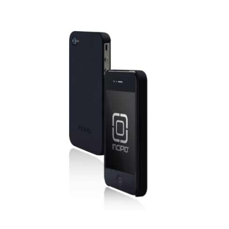Capa Rígida Preto para iPhone 4 - Incipio - IPH512, 06 meses