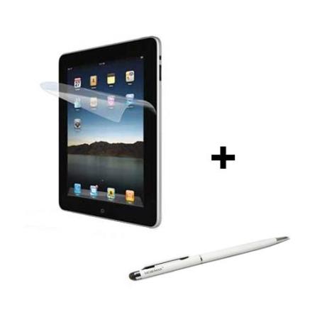 Caneta para Tablets Mobimax e Película para iPad 2