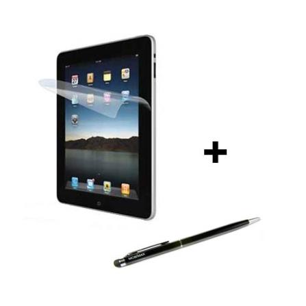 Caneta p/ Tablets Mobimax e Película p/ iPad2 iLuv