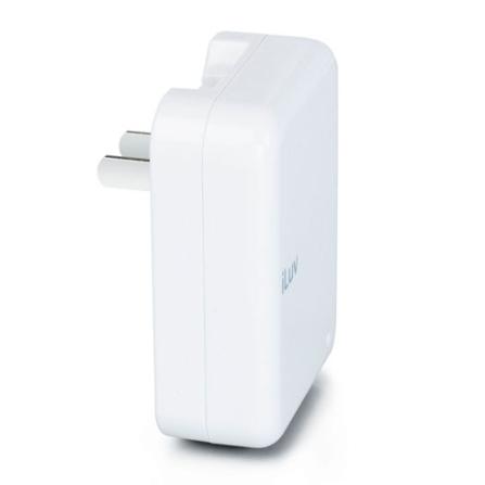 Carregador de Bateria Dobrável para iPod com Entrada USB / Branco - iLuv - IVI107, Bivolt, Bivolt, Branco, 06 meses