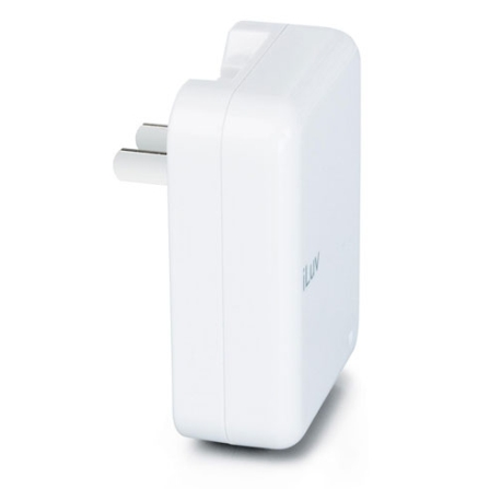 Carregador de bateria dobrável para iPod com 3 conectores  - iLuv - I108BR