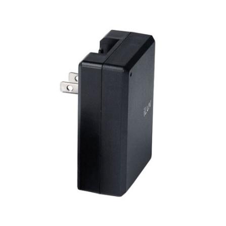 Carregador de bateria dobrável para iPod / Com 3 conectores / Preto  - iLuv - I108PT