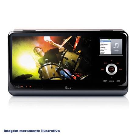 Dock para iPod Portátil com Tela de 8.4