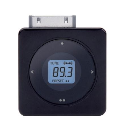 Transmissor FM para iPod com Memória para 2 Freqüências / Preto - iLuv - I703PT, Preto, 06 meses