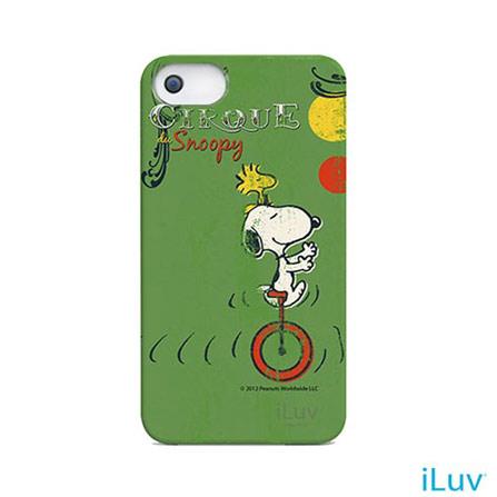 Capa para iPhone 5 Protetora iLuv, Verde, 03 meses