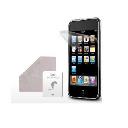 Película Protetora Incolor para iPod iTouch 4 - iLuv - ICC1114, Não se aplica, 06 meses