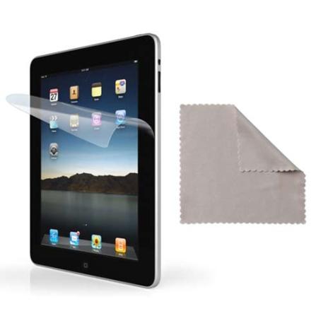Película Protetora Transparente para iPad - iLuv, Não se aplica
