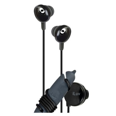 Fone de Ouvido Auricular Estereo / Preto - iLuv - IEP311BLK, Preto, Intra-auricular, 06 meses