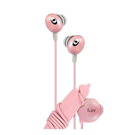 Fone de Ouvido Auricular Estereo / Rosa - iLuv - IEP311PNK, Rosa, Intra-auricular, 06 meses