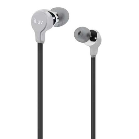 Fone de Ouvido com entradas intra - auriculares / Prata - iLuv - IVIEP314SIL, Prata, Intra-auricular, 06 meses
