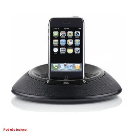 Dock para iPod On Stage III / Preto - JBL - LOS3PBLKV