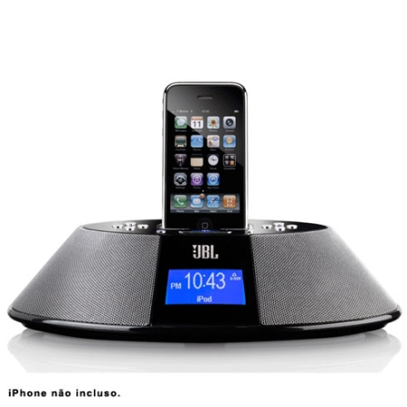 Dock para iPod e iPhone JBL OnTime 200P - OT200PBLK