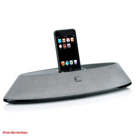 Dock Portátil para iPod, Carrega a bateria JBL