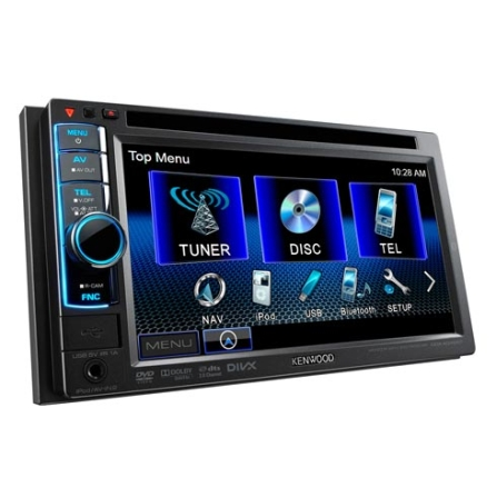 DVD Player Automotivo Kenwood DDX4049BT com Tela 6.95