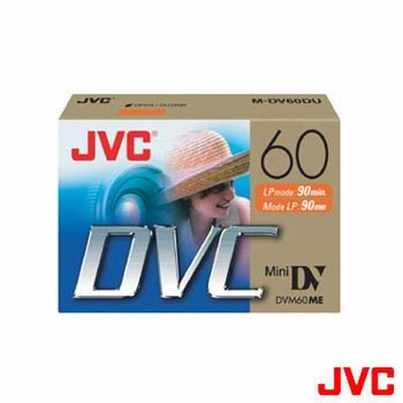 Fita Mini DV 60min. para Câmera de Vídeo Digital JVC - MDV60DU, DG