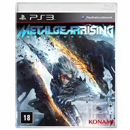 Jogo Metal Gear Rising: Revengeance para PS3, GM
