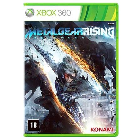 Jogo Metal Gear Rising: Revengeance + DLC para XBOX 360