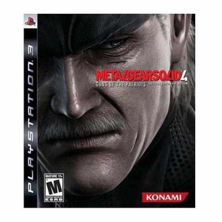 Jogo Metal Gear Solid 4 para PS3 - MTGEARSOLID4