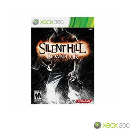 Jogo Silent Hill Down para XBOX, Não se aplica, Xbox 360, Terror, DVD, 18 anos, Não especificado, Não especificado, 03 meses