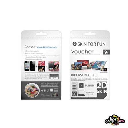 Voucher 2D Skin para iPad 2, Colorido