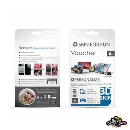 Voucher 3D Skin para iPod Touch e para iPhone 4 - iSkin - 789853612311, Colorido