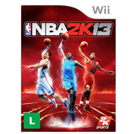 Jogo NBA 2K13 para Nintendo Wii