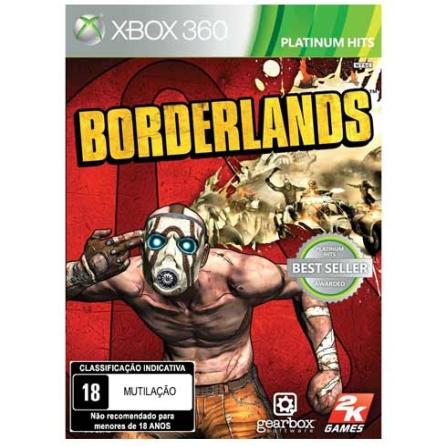 Jogo Borderlands para XBOX 360