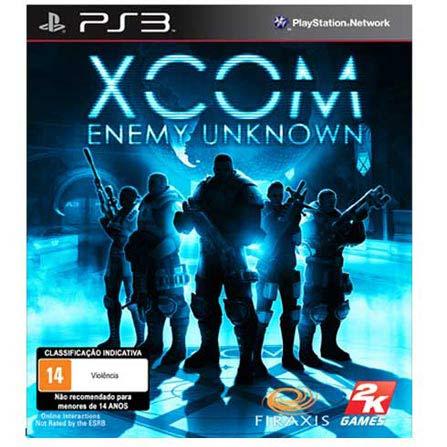 Jogo XCOM: Enemy Unknown para PS3