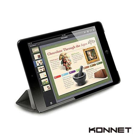 Capa Folio para iPad Mini Cinza, Cinza