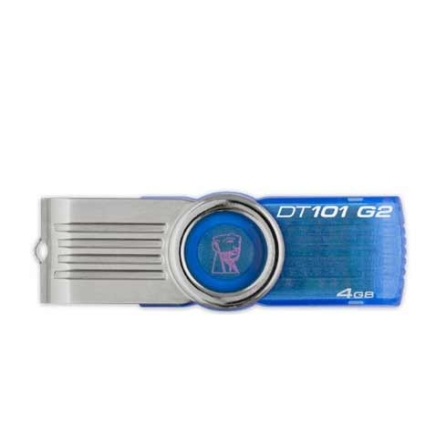 Pen Drive Data T. 4GB Azul - Kingston - DT101G24GBZ