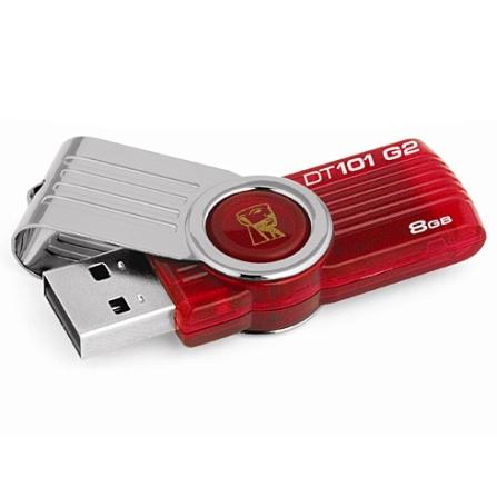 Pen Drive 8 GB Kingston Data Traveler Vermelho DT101G2