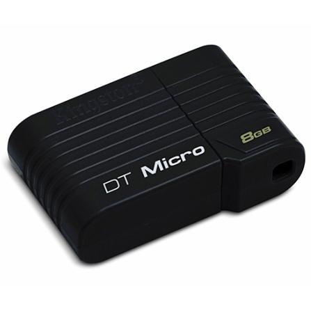 Pen Drive 8 GB Kingston Data Traveler Micro Preto DTMCK