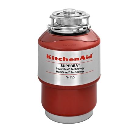 Triturador de Alimentos com Tecnologia Anti-Vibração na Cor Vermelha - Kitchenaid - K9A07AVANA, 110V, LB