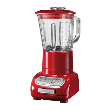Liquidificador 5 Velocidades com Potência de 500W e Cor Vermelha - Kitchenaid - KUC05AVANA, 110V