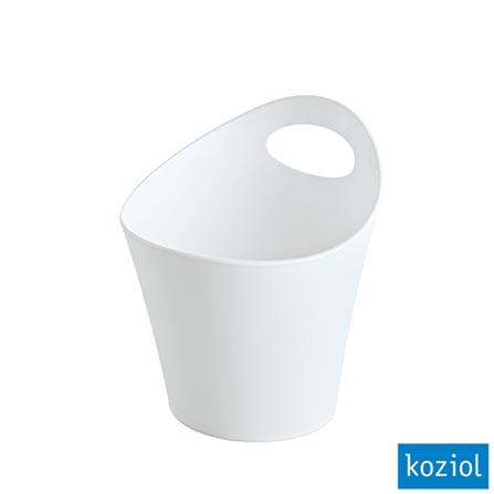 Organizador Plástico Pottichelli XS 3 Litros Koziol Branco - 2839525
