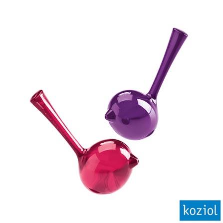 Saleiro e Pimenteiro Shaker Koziol Framboesa - 3107002