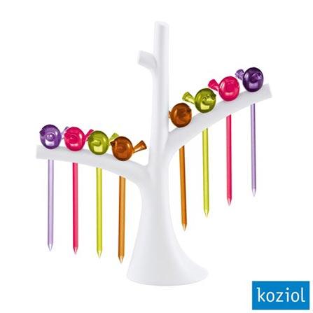 Jogo de Palitos com Árvore PIP Koziol Colorido - 3123100