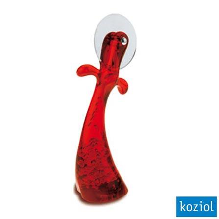 Cortador de Pizza Gaston Koziol Vermelho - 3220536