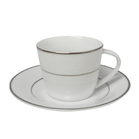 Conjunto de Xícaras 6 Peças em Porcelana - Kenya - 4080550068